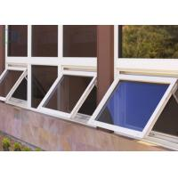 Size Customized Aluminum Awning Windows , Awning Style Windows With Screen Manufactures