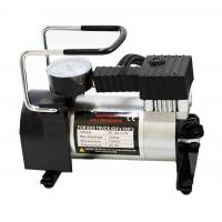 China Automotive 12 Volt Metal Air Compressor With Watch / Hand Shank Pump on sale