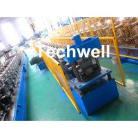 PPGI , Aluminum Forming Material Gutter Roll Forming Machine For Making Rainwater Gutter , Seamless Gutter Manufactures