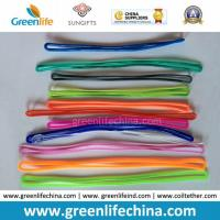 Customs Colors Popular PVC Luggage Tag Loops Manufactures