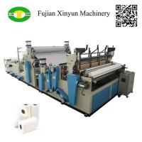 Full automatic rewinding kitchen towel paper making machine price Manufactures