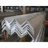 Quality Unequal / Equal Long Steel Angle of custom cut ASTM A36, EN 10025 S275 Mild Steel Products for sale