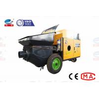 China Long Pumping Distance Small Concrete Pump Mini Concrete Pump Machine on sale