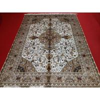 China 100% handmade pure silk persian design carpet,rug on sale