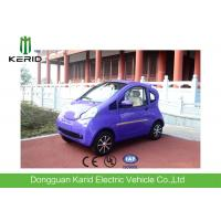 2 Seater Electric City Car For Transportation , Small Electric Vehicles Bright Color Manufactures