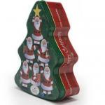 Bulk Decorative Christmas Tins Company Manufactures