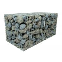China 200 X 100 X 50 Galvanised Welded Gabion Box Stone Cage For Government Project on sale