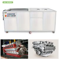 Marine Engine Industrial Ultasonic Cleaner With Filter System For Removing Dirt 800L Manufactures