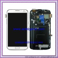 Samsung Galaxy Note2 N7100 LCD Screen with Digitizer white Samsung repair parts Manufactures