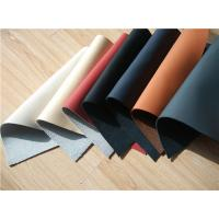 China 7 Colors Recycled Leather Fabric Cow Real Leather Upholstery Fabric wholesale