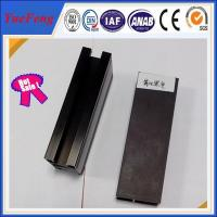 Great!!6063-t5 aluminum alloy products black anodized aluminum extrusion in china Manufactures