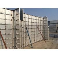 China Building Wall 6061-T6 Aluminum  Formwork System Concrete Wall Formwork on sale