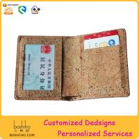 BOSHIHO New Item Eco friendly cork product natural color wallet Manufactures
