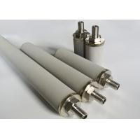 China Clarification Filtration Sintered Pipe Rod Canister Shaped Customized Length on sale