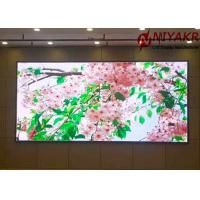 China HD Video P2.5 RGB Indoor LED Display Screen Advertising With Mean Well Power on sale
