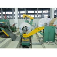 China Steel Cut To Length Machine For 2200mm Width 6mm Thickness Material on sale
