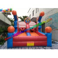 Popular Inflatable Basketball Games , Inflatable Joust Arena With PVC Manufactures