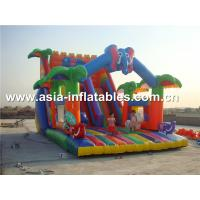Hot Rental Inflatable Slide With Archway For Kids Entertainment Manufactures