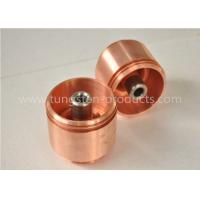 Electrical Contacts Tungsten Copper Alloy Customized Arcing Contacts / Arc Runner Manufactures