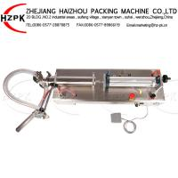 China Easy Operated Semi Automatic Bottle Filling Machine 50-500 Ml For Body Wash on sale