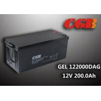 12V 200AH non spillable sealed rechargeable battery , GEL Military Energy Storage Battery Manufactures