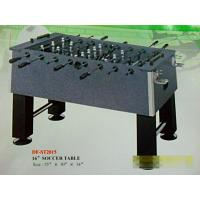 OEM green playing field, england foosball soccer table, steel playing rods with handles Manufactures