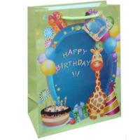 China Very popular birthday design gift packing paper bag in EU market on sale
