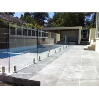 Outside stainless steel glass railing for balcony/staircase/pool fence Manufactures
