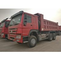 Flatbed 19 Cubic Yards Ten Wheeler Dump Truck Heavy Duty For Construction Manufactures