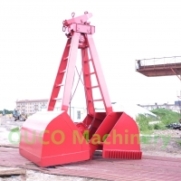 5 CBM 2 Rope Bulk Cargo Hydraulic Clamshell Grab Manufactures