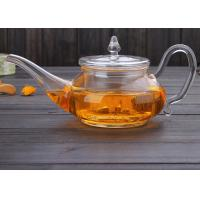 650ml Heat Resistant Glass Teapot With Infuser For Tea Leaf Herbal Custom Logo Manufactures