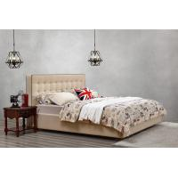 Quality Good quality PU/ Imported Cow ISO9001 Leather Upholstered King Bed Frame Leisure for sale