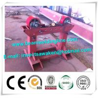 Conventional Pipe Welding Rotator , Welding Column Boom Pipe Welding Turning Rollers Manufactures