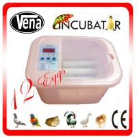 12 eggs mini incubator  110V or 220V full automatic mini chicken egg incubator for sale Manufactures