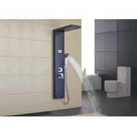 Outdoor Free Standing Shower Panel System ROVATE Brushed Surface Finishing Manufactures