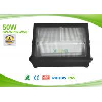 50w Led Outdoor Flood Lights Wall Pack AC90-295V ,  Exterior Wall Pack Pure White SMD Manufactures