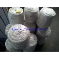China Eco Friendly Ceramic Fiber Refractory Cloth Rope Tape Textile ISO9001 on sale
