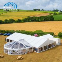 China Semitransparent Custom Made Tents Tailor Made Printing For 400 People on sale