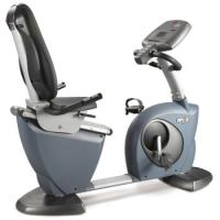 China Fixed And Scroll Display Recumbent Stationary Exercise Bike Gym Equipment 83.5kg on sale