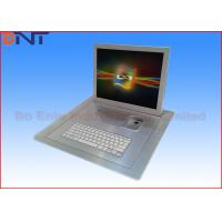 Keyboard Motorized Monitor Lift Aluminum Alloy Brushed With 19 FHD Screen Manufactures