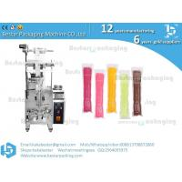 Automatic liquid Popsicle packing machine,ice Popsicle packag ing machine with stainless steel tank and pump Manufactures