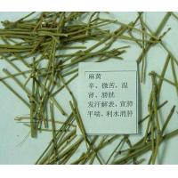 Wild Mahuang herb Chinese ephedra cuts green color for sale online Manufactures