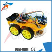 China High Performance Arduino Car Robot Electric Car Chassis , Intelligent Diy Model Car Toy on sale