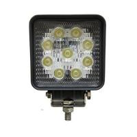 China Square 4 27W Led Work Light Flood Beam Driving Fog Lights off road Lights 10-30V IP67 Thicker profile on sale