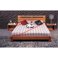 Plate modern Apartment bedroom indoor interior Furniture by MDF bed and Nightstand Manufactures