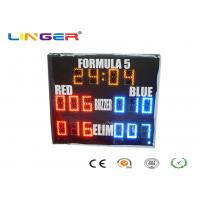 Yellow Red Blue Colors Led Electronic Scoreboard Outdoor For Paintball Sports Manufactures