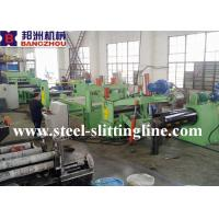 China Hot Rolled Steel Coil Slitting Machine With Decoiler And Slitter Recoiler on sale