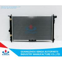 Natural Aluminum Water Cool Auto Radiator For Daewoo Nubria / Leganza Oem 96351103 Manufactures