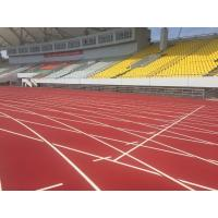 Environment Friendly Rubber Running Track Surface Fireproof Colorful EPDM Pallets Manufactures