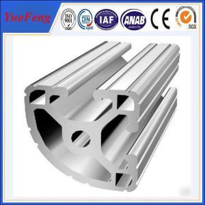 6000 electrophoresis white aluminium profile factory, v slot aluminum extrusion profiles Manufactures